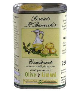 250 ml Condimento Olive e Limoni