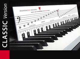 Klaviatur mit Herz - Classic für Piano & Klavier