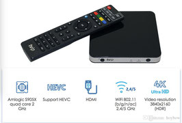 TVIP S-Box v.605  IPTV 4K HEVC Multimedia Streamer