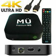 MÜ M8 Android TV Box 4K Full UHD+ H.265 2GB RAM 16GB