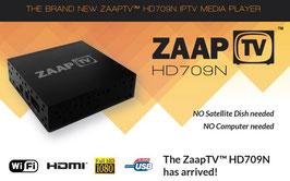 ZaapTV™ HD 709N greek channels - 12 months streaming service