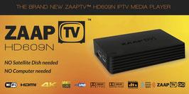 ZAAPTV HD609N - Grec - 36 mois de Contenu du service