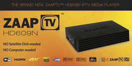 ZAAPTV HD609N - Greek - 36 Months of Service Content