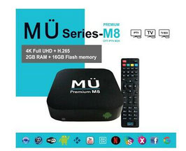 MÜ8 Media Player - 4K Full UHD - 12 mois de streaming