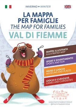 La Mappa per Famiglie -  Val di Fiemme/Inverno