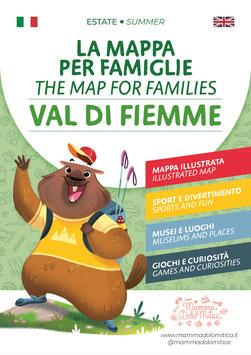 La Mappa per Famiglie -  Val di Fiemme/Estate