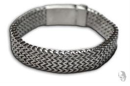 Edelstahl-Armband klassisch