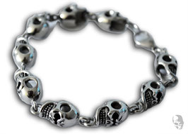 "Armband ""kleine Skulls"""