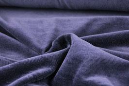 elastischer Cord fein, blau