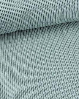 Baumwoll-Grobstrick , helles graublau