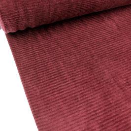 elastischer Cord, dunkelrot breit
