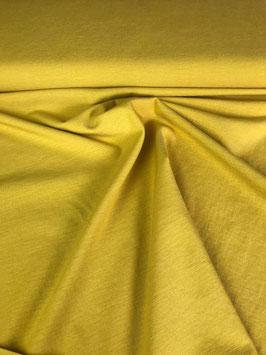 Feines Leinen-Viskosegemisch, mit Elasthan, gelb
