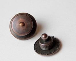 Loxx-Knopf Kupfer, glatt