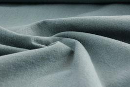 Griffiger Webstoff Baumwolle/Leinen helles petrol