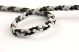 Kordel multicolour schwarz/grau/weiß