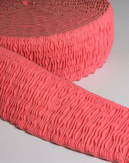 Gummiband Frize Fluo coral