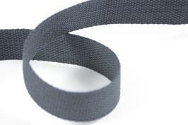 Baumwoll-Gurtband dunkelblau, 3cm