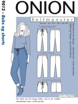 Hose / Shorts, 9012  (XL-5XL)