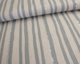Kokka, Stripes light grey