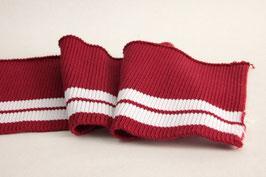 Cuff 11cm, rot-weiß
