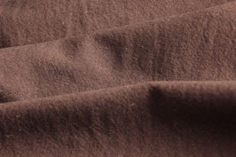 Griffiger Webstoff Baumwolle/Leinen braun