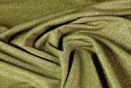 feiner Viskosjersey mit Lurexanteil, grün