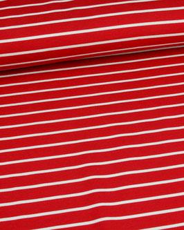Romanit Streifen rot/weiß