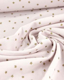 Jersey, rosa mit goldenen Sternchen