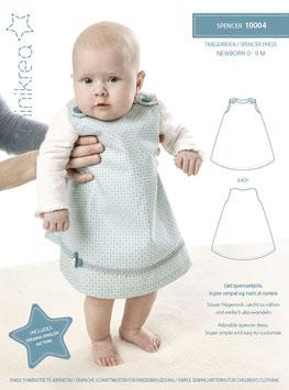 Minikrea 10004 Spencer Dress, 0-9 Monate