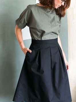 Three Pleat Skirt Pattern , The Assembly Line
