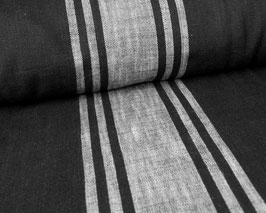 towelfabric, schwarz/grau