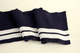 Cuff 11cm, navy-weiß