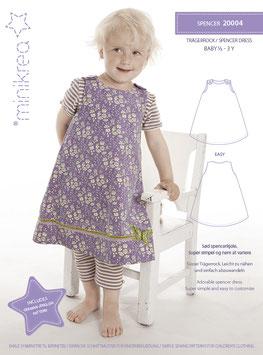 Minikrea 20004 Spencer Dress, 1/2 - 3 Jahre