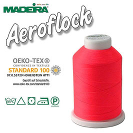 Madeira Bauschgarn Aeroflock, pink neon