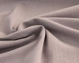 Griffiger Webstoff Baumwolle/Leinen helles mauve