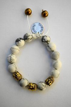 White Buddha /gold