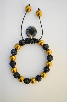 Golden Hämatit/ male: Größe 10 mm