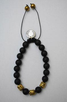 Black Buddha/gold