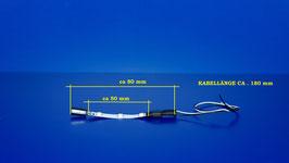 Waggonbeleuchtung KALT - WEIß ( 281 )