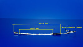 Waggonbeleuchtung KALT - WEIß ( 282 )