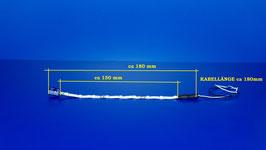 Waggonbeleuchtung BLAU (273)