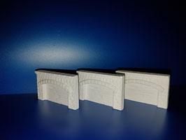 Arkadenmauern  3 Stück (Nr.141)