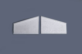 Flügelmauern    1 Paar                        Artikel Nr. 36