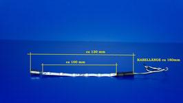 Waggonbeleuchtung BLAU ( 272 )