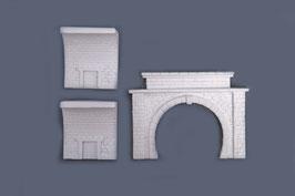 Tunnelportal mit Tunnelinnenwand