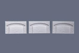 Arkadenmauern  3 Stück