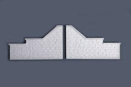 Flügelmauern 1 Paar Artikel Nr.76