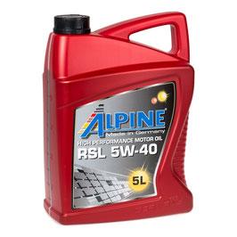Alpine Motoröl SAE 5W40