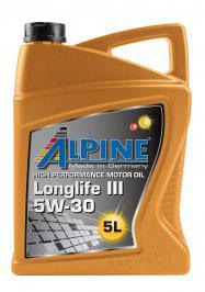Alpine Motoröl SAE 5W-30 Longlife3