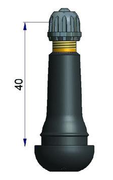 Gummiventil TR414 100Stk